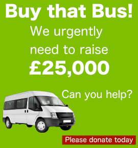 Buy that bus Croydon Carers